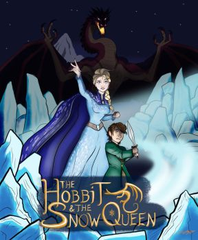 The Hobbit and the Snow Queen, Cover Art 2.0 by moviedragon009v2