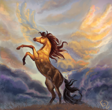 #Equinemarch 4: Spirit by Dalgeor