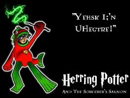 Herring Potter Wallpaper by tracypaper12