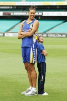 Liz Cambage and matt mitcham by lowerrider