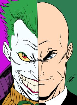 Joker/Luthor by edCOM02