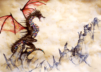 Smaug3 by RoseFlorent