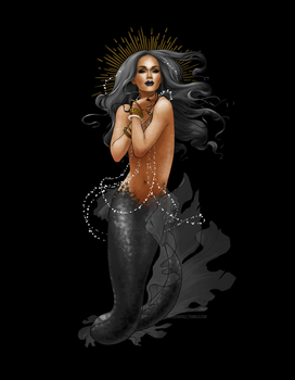 Blackwater mermaid by lily-fox