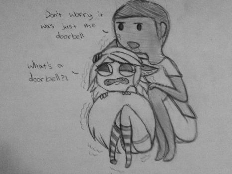 doorbells are gross by Fawnthenico