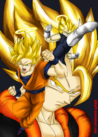 Legendary Power of SuperSayian HD by KiRaPL