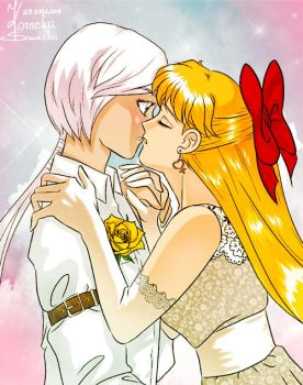Their wedding in heaven by unconventionalsenshi
