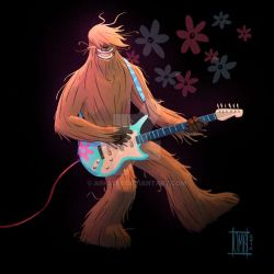 Chewbacca's cousin by Arkel88