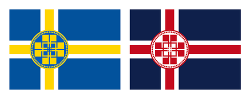 Two Flags, Two Kingdoms, One Country by AMCAlmaron