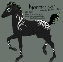 6455 - Nordanner Foal Design by Ikiuni