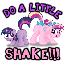 DO A LITTLE SHAKE!!! by AleximusPrime