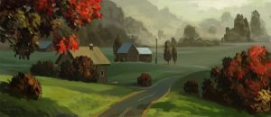 Autumn morning by Andead