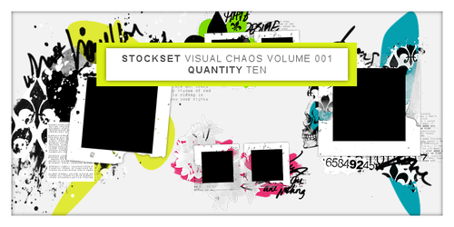 Visual Chaos V001 by dannielle-lee