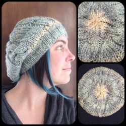 Cable Slouch Hat by theassassinnox