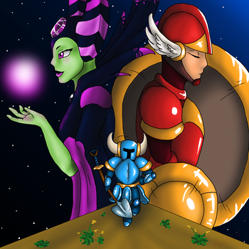 Shovel Knight by Adela555