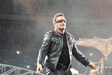 U2 in Moscow 16 - Bono by WilliH