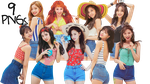 TWICE PNG Pack {Summer Nights Album} by soshistars