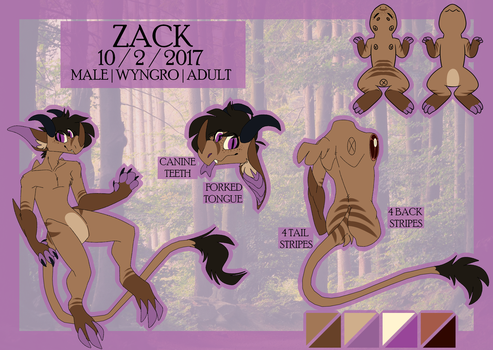 Zack Ref [2018] by moody-coyote