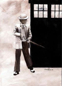 The Seventh Doctor by Draculasaurus