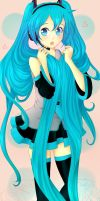 Hatsune Miku by smarticles101