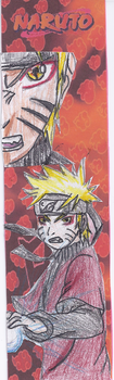 Naruto Sage Mode Book Mark by Cy689