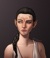 Dalish Pride by Ghilenan