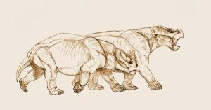 Dicynodonty by Kahless28