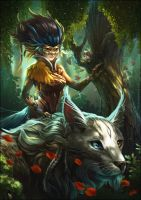 Guardian of the Forest - remake by VeraZowa