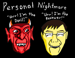 Personal Nightmare Title Card by WizWar100