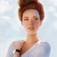 Ginger Girl by myjerart