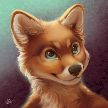 Cutie Pie - SpeedPaint by GoldenDruid