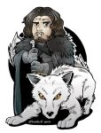 Stark Kids Jon Snow by giosdesk