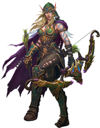 Alleria PNG by Daerone