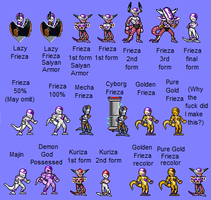 Most Frieza forms JUS by Levi-Addonis