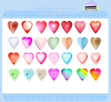 Colorful photoshop layer style 2 by cameliaRessources