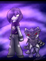 .:Anti Stacy and Blacktancoonmon:. by Nights2Dreams