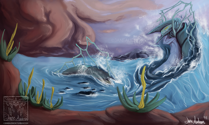 Sea Serpent by Jane2Audron