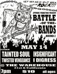 Battle of the Bands flyer by fauxster