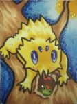 #T003 - Joltik by Angelx91