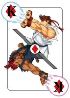 Street Fighter- King of Diamonds (Commission) by TODODeygulash