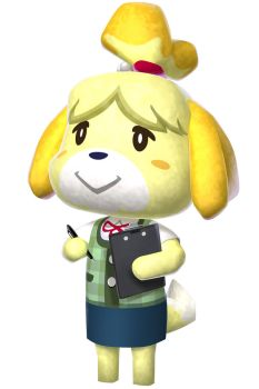 Animal Crossing New Leaf - Isabelle/Fuffi by Kharthoffen