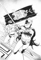 Batman 1966 by jasonbaroody