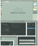 GNOME Shell - DeviantArt by half-left