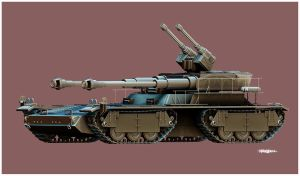 OVERLORD TANK by WXKO