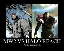 MW2 vs Halo Reach by Ashi920