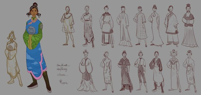 Chinese Dynasty - Women of the Centuries - WIP by lepetitgroin