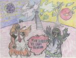 Jhale vs. Undido - The Hairs We Left Behind. by Azel4
