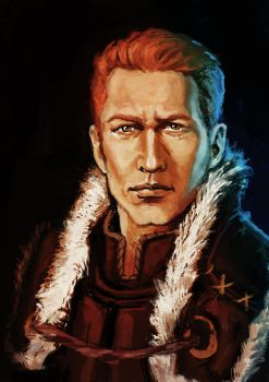 Alistair Theirin portrait by yuhime