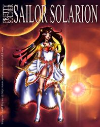 ArtTrade: Sailor Solarion for JojiaMystie by SailorDream