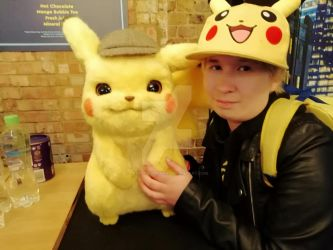 Detective Pikachu and I by Londonexpofan