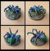 Giant spider miniature by Vaejoun